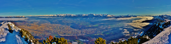 grenoble panorama